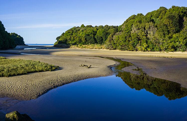 Bathing Beach inlet view, Rakiura, New Zealand