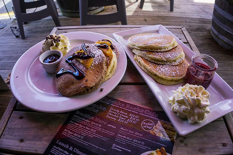 Pancakes in Punakaiki, New Zealand