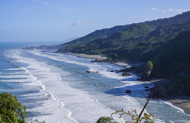 A Stunning West Coast view, New Zealand